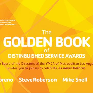 The Golden Book Awards banner