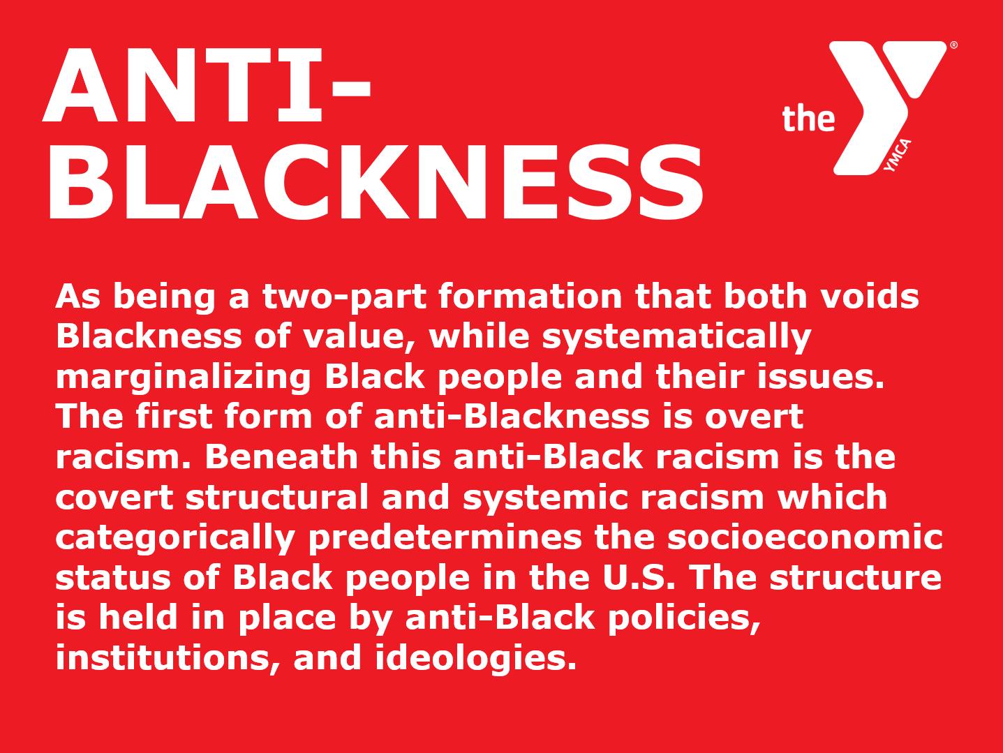 Anti Blackness